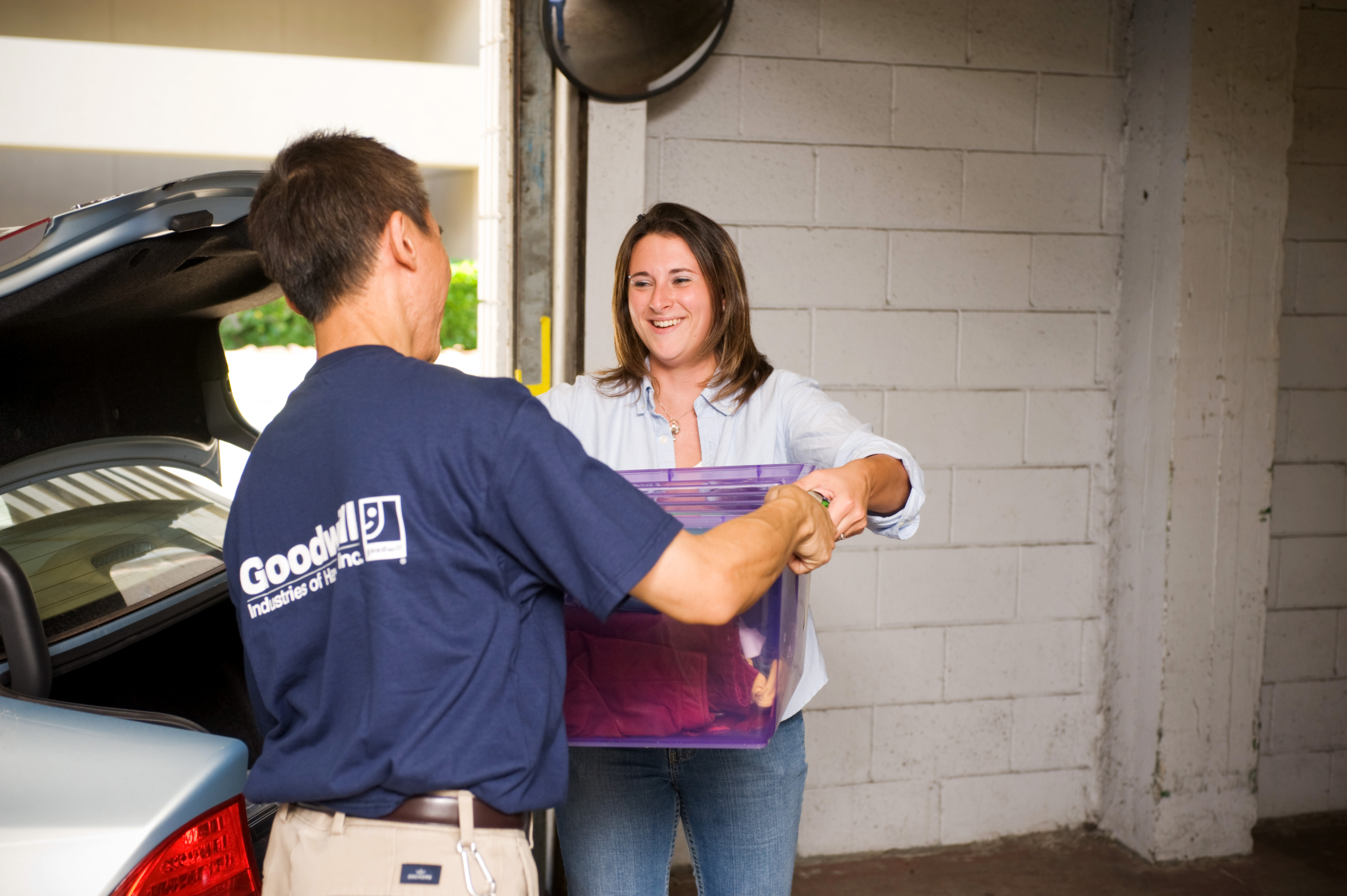 How to Setup a Donation Station | Horizon Goodwill Industries