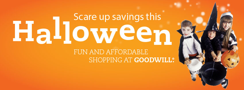 Get Invited To A Last Minute Halloween Party? Horizon Goodwill To The Rescue!