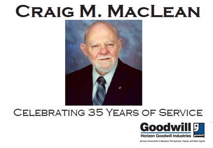 Honoring Craig M. MacLean For 35 Years Of Service