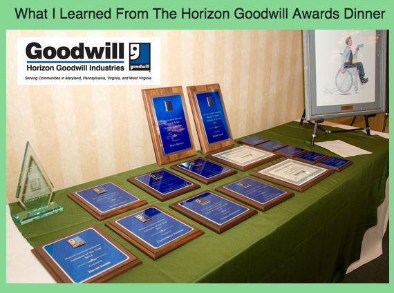 The Horizon Goodwill Awards Dinner—An Eye Opening Experience