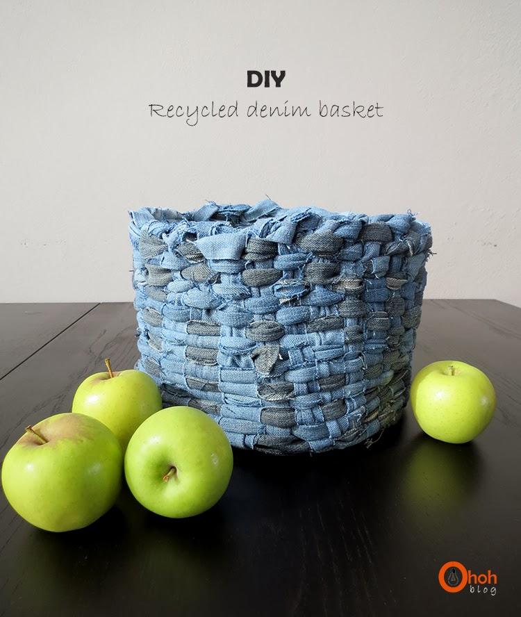 diydenimbasket3 - Creative Crafts From Discount Denim