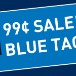 99Cent Blue Tag Sale