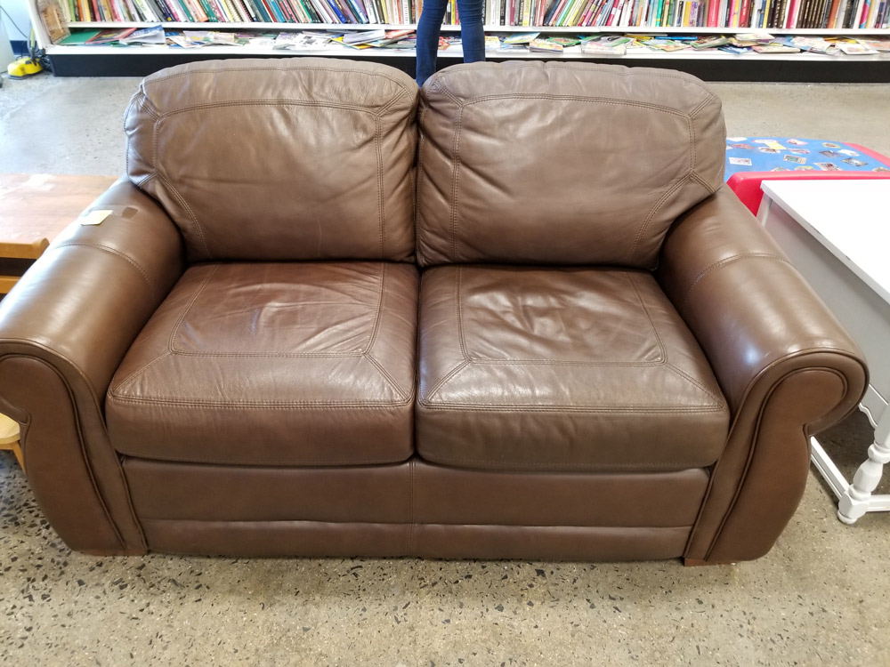 Genuine Leather Lazboy Couch South
