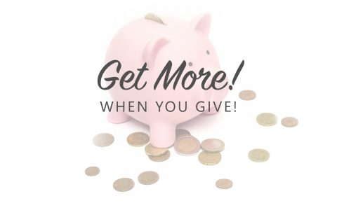 Get More When You Give