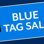blue Tag sale