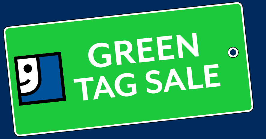 Green Tag Sale!