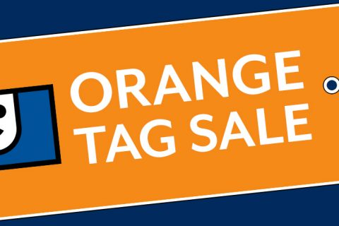 Orange Tag Sale