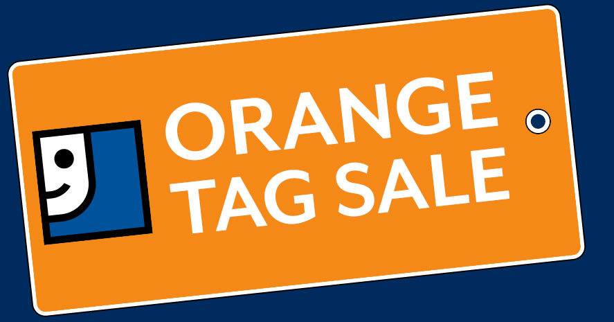 Orange Tag Sale!