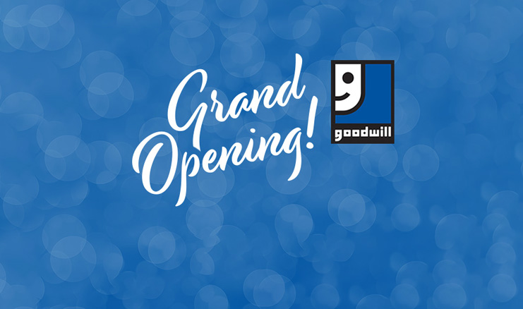 The Grand Opening of The Horizon Goodwill Outlet!