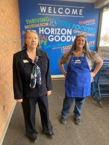 Virginia Stotler and Kathy N.