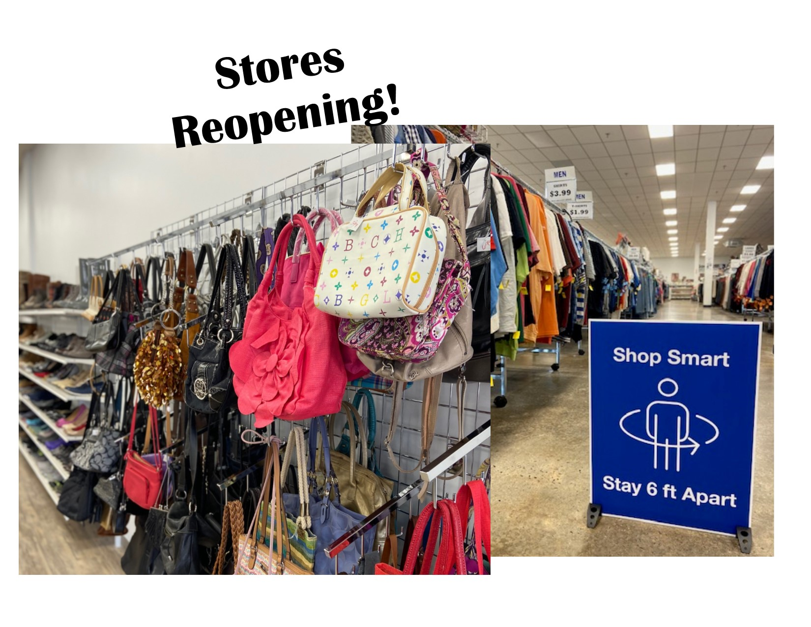 store reopening graphic