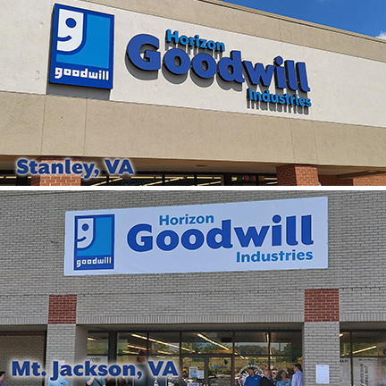 Horizon Goodwill Adds Stores in Mount Jackson and Stanley Virginia
