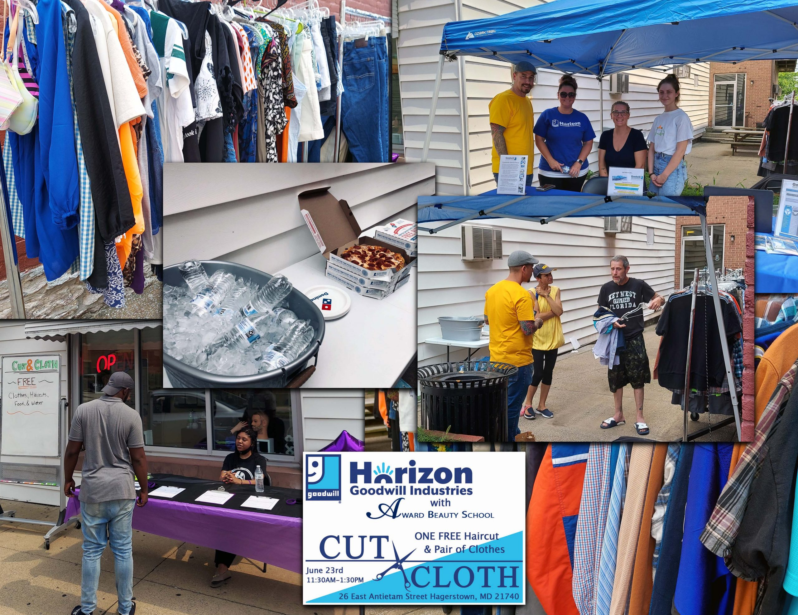 The first Cut and Cloth Event